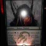 タルキール覇王譚のボックスプロモの英語カード名は「Rattleclaw Mystic」に決定!日本名は「爪鳴らしの神秘家 」に決定!