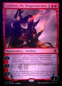 新サルカン「Sarkhan, the Dragonspeaker」