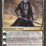白黒神話の新ソリン「Sorin, solemn Visitor」が公開!全体強化&絆魂や吸血鬼トークンを生み出す能力を備える一枚!日本語版カード名は「真面目な訪問者、ソリン」!