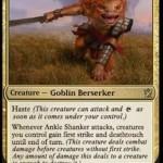 マルドゥのレアゴブリン「Ankle Shanker」がebayに出品!速攻を持ち、自軍に先制攻撃と接死を付与!
