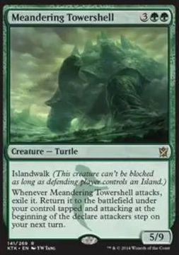 スゥルタイの超防御的な亀「Meandering Towershell」