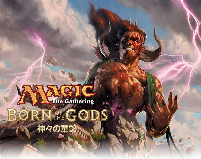 MTG「神々の軍勢」ロゴ画像