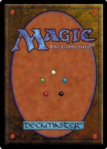 MTGカードの裏面