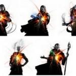 MTG基本セット「マジック・オリジン」に登場する5人のPWの人間時&PW覚醒時のイラストが公開!※全員の出身&初プレインズウォーク先の次元が判明!