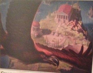 マジック・オリジンの非公式スポイラーにて白コモン「Eagle of the Watch」