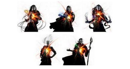 マジック・オリジンに登場する5人のプレインズウォーカー