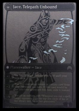 マジック・オリジンのPWジェイス「Jace, Telepath Unbound」