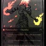 マジック・オリジンのPWチャンドラ「Chandra, Roaring Flame」が非公式スポイラーで情報公開!※日本語版「燃え盛る炎、チャンドラ」の画像を追加