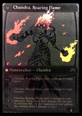 マジック・オリジンのPWチャンドラ「Chandra, Roaring Flame」