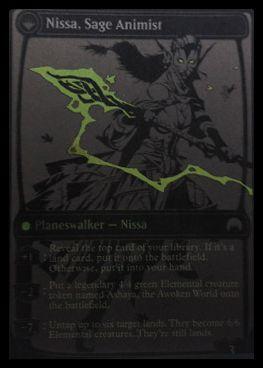 マジック・オリジンのPWニッサ「Nissa, Sage Animist」