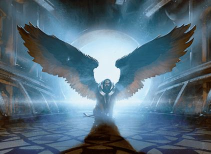 青エンチャント「Sphinx's Tutelage」(マジック・オリジン)
