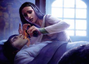 マジック・オリジン収録の黒レア「穢れた療法」
