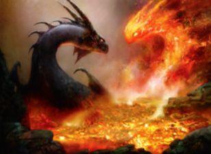 マジック・オリジンに収録の赤レア「炎影の妖術」