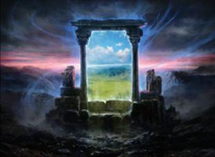 マジック・オリジン収録の青神話ソーサリー「一日のやり直し」