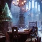 マジック・オリジンの青レアエンチャント「ジェイスの聖域」が公開!インスタントとソーサリーをコスト軽減&占術付与!
