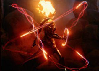 マジック・オリジンの赤レア火力「極上の炎技」