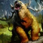 マジック・オリジン収録の緑神話生物「Woodland Bellower」が公開!CIPでライブラリーからクリーチャーを戦場へ!※日本語名「森林の怒声吠え」が判明!