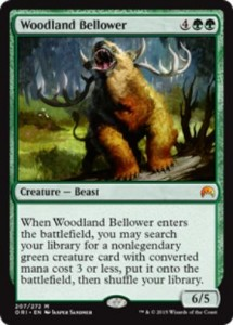 Woodland Bellower(マジック・オリジン)