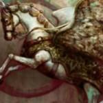 マジック・オリジンの白レアペガサス「Vryn Wingmare」が非公式スポイラーで公開!クリーチャー呪文以外に追加マナを要求!※日本語名「ヴリンの翼馬」が判明!