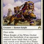 マジック・オリジンで「白蘭の騎士」がアラーラの断片から再録!
