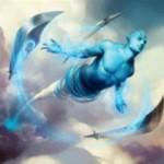 青レアのジン「Soulblade Djinn」がマジック・オリジンの非公式スポイラーで公開!「果敢」の全体版能力を有する一枚!※日本語名「魂刃のジン」が判明!