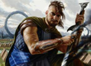 マジック・オリジンの黒レア戦士「Funeral-Blade Predator」