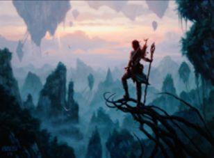 マジック・オリジンの緑レアソーサリー「精霊信者の覚醒」