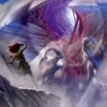 マジック・オリジンの緑レアソーサリー「ニッサの天啓」が公開!占術後にライブラリートップを公開し、クリーチャーならパワー分ドロー&タフネス分回復!