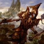 マジック・オリジンの黒神話巨人「Titan of Erebos」が非公式スポイラーで公開!4マナ5/5&条件付き「破壊不能」&墓地から手札に戻る!※日本語名「エレボスのタイタン」が判明!