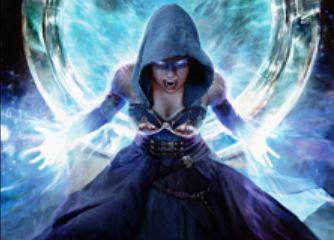 マジック・オリジンの青神話ウィザード「輪の信奉者」