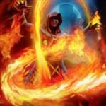 オリジンにレアで収録の赤モンク「ケラル砦の修道院長」が公開!2マナ2/1「果敢」に加え、ライブラリートップをプレイ可能な状態に!