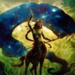 緑レア生物「万神殿の伝令(マジック・オリジン)」が公開!2マナ2/2でエンチャントのコスト軽減&エンチャントを唱えるたびライフ回復!