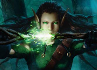 マジック・オリジンのレア伝説装備「精霊信者の剣」