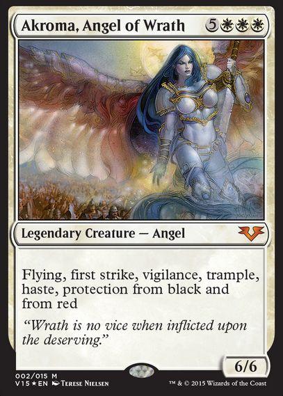 怒りの天使アクローマ(From the Vault: Angels)