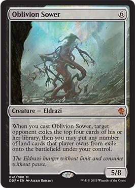 Oblivion Sower(MTG ゼンディカーvsエルドラージ)