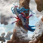 青のエルドラージ「霧の侵入者」が公開!戦乱のゼンディカーに収録される欠色&嚥下&飛行を持つコモン・エルドラージ!