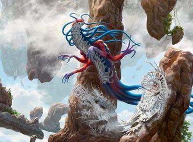 青のエルドラージ「霧の侵入者」