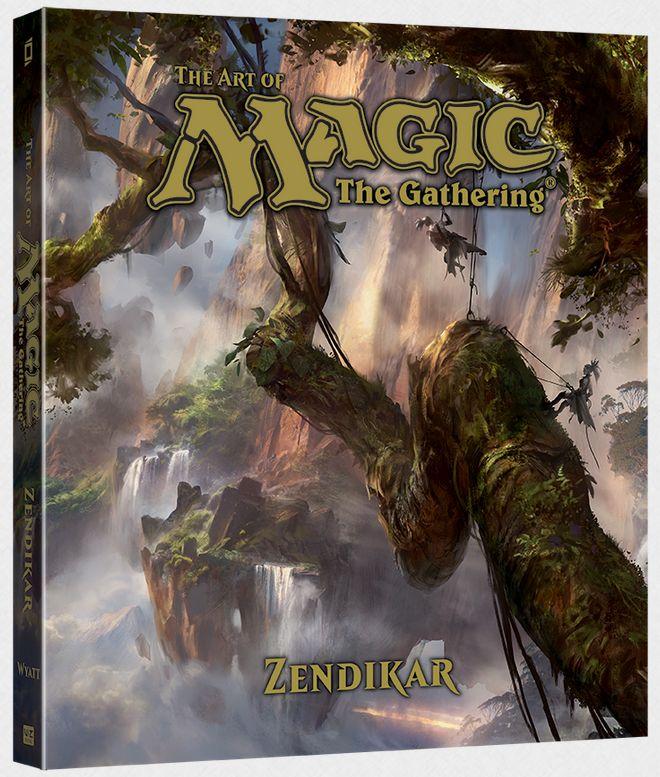 ゼンディカーの公式アートブック(The Art of Magic: The Gathering—Zendikar)