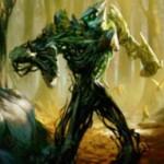 緑神話生物「Undergrowth Champion」が戦乱のゼンディカーの非公式スポイラーで公開!上陸で+1/+1カウンター獲得&+1/+1カウンターを使ってダメージを無効化!※日本語名「下生えの勇者」が判明!※特集記事が公開!