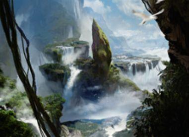 青緑ミシュラランド「伐採地の滝」
