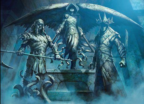 戦乱のゼンディカーのレア土地「見捨てられた神々の神殿」