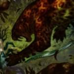 上陸持ち緑アンコ「鎌豹」が公開!戦乱のゼンディカーのホリデーギフトボックスの限定プロモとしても収録される一枚!