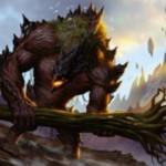 グルールカラーのアンコ生物「Grove Rumbler」が公開!上陸でP/Tを2ずつ上昇させるトランプル持ちクリーチャー!※日本語名「林の喧騒者」が公開!