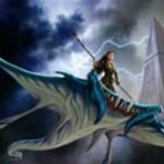 シミックカラーの同盟者「Skyrider Elf」が公開!戦乱のゼンディカーのキーワード能力「収斂」によりサイズアップ!※日本語版「空乗りのエルフ」が公開!