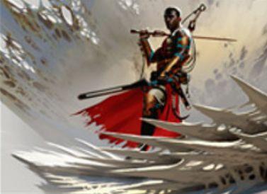 赤白のアンコ同盟者「Resolute Blademaster」(戦乱のゼンディカー)
