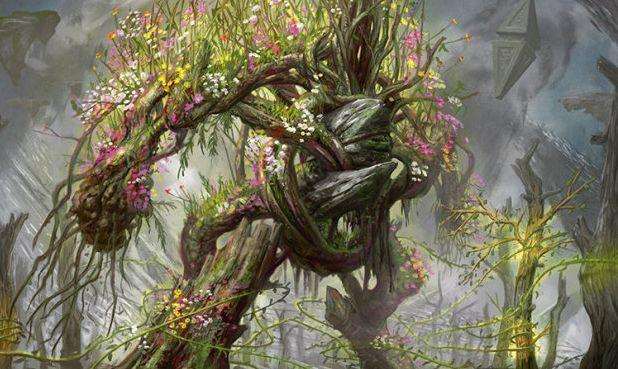 緑神話エレメンタル「ムラーサの緑守り(戦乱のゼンディカー)」