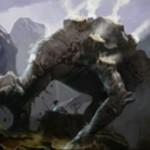 戦乱のゼンディカーの対抗色白黒ミシュラランド「Shambling Vent」が公開!絆魂持ちの2/3エレメンタルに変身!※日本語名「乱脈な気孔」が公開!