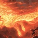 赤神話フェニックス「アクームの火の鳥(戦乱のゼンディカー)」が公開!上陸時にマナを支払えばいつでも墓地から自己リアニメイト可能!