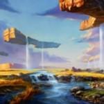 プレミアム神話レア版の「大草原の川(Prairie Stream)」が公開!戦乱のゼンディカーに収録の新デュアルランド!