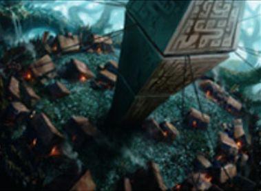 戦乱のゼンディカーのレア土地「Ally Encampment」(戦乱のゼンディカー)